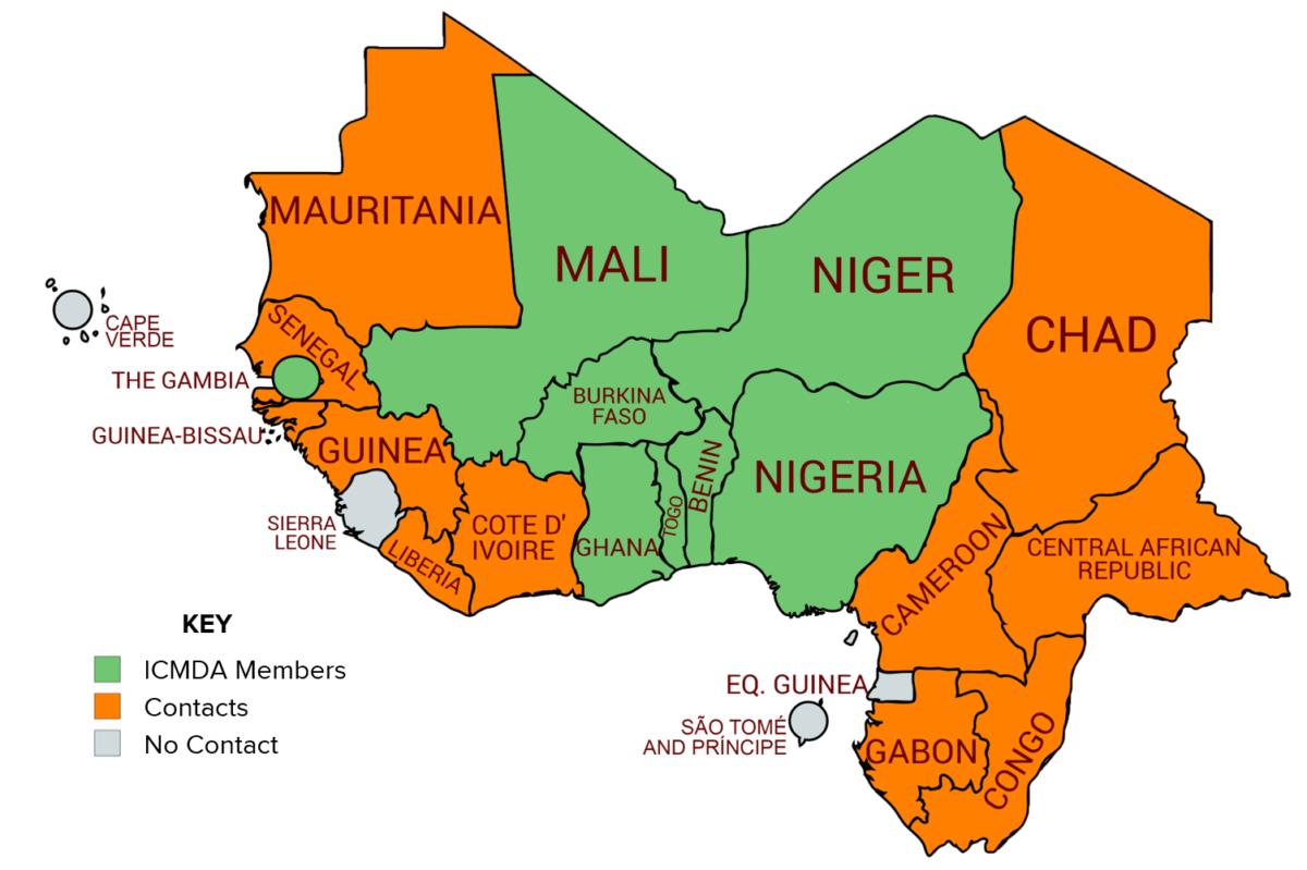 West Africa key